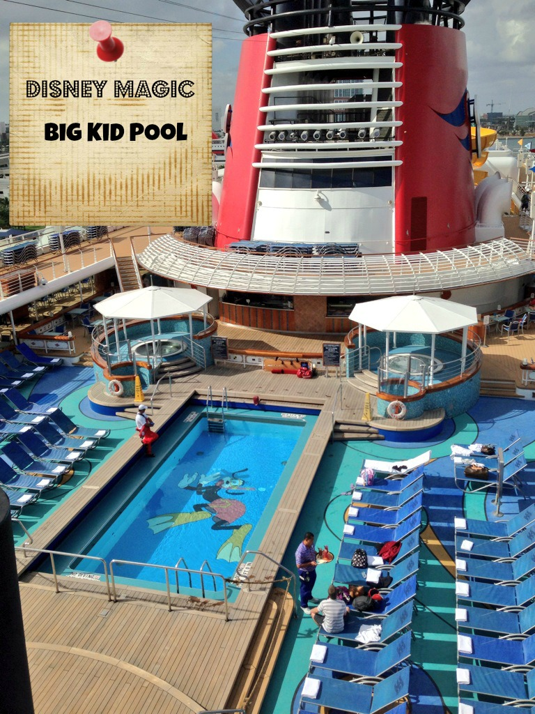 Pool Areas Aboard The Disney Magic Cruise Ship: Disney Magic Cruise Review : The Oldest Ship Is Now The Best
