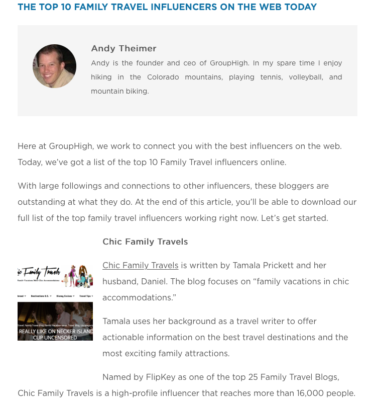 top-family-travel-media-influencers