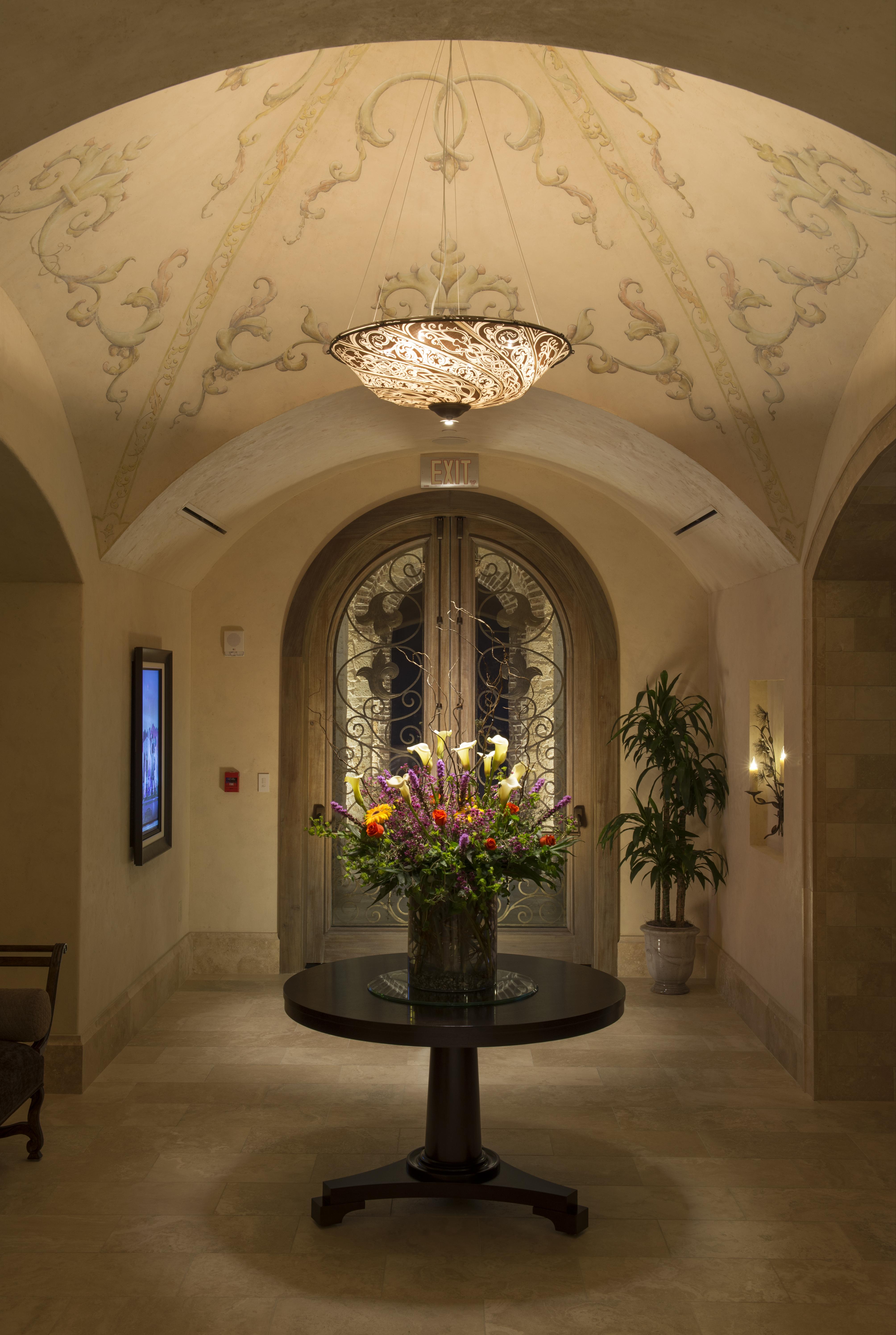 Golden Oak Summerhouse Entry